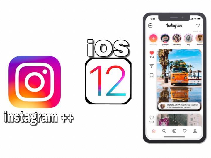 Instagram ++ iOS 12 free download