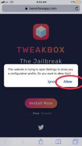 Download tweakbox iOS