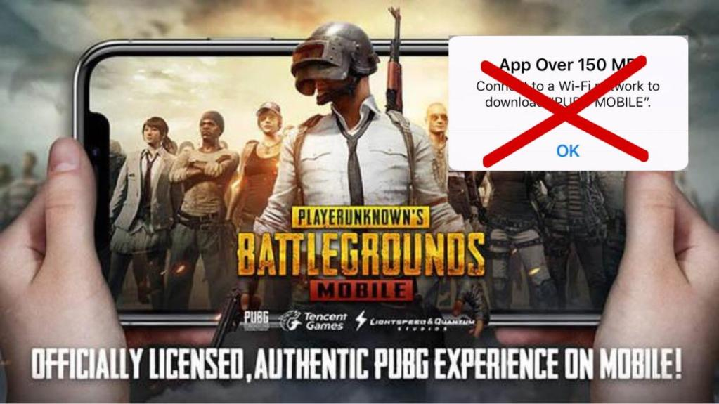 How to download PUBG on iPhone without wifi