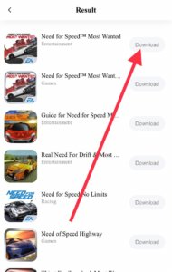 download need for speed most wanted for free ios