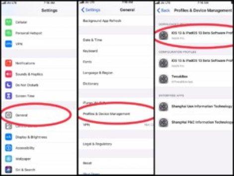 iOS 13 Public Beta Profile