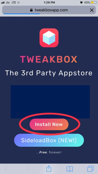 Install tweakbox to download 8 ball pool hack