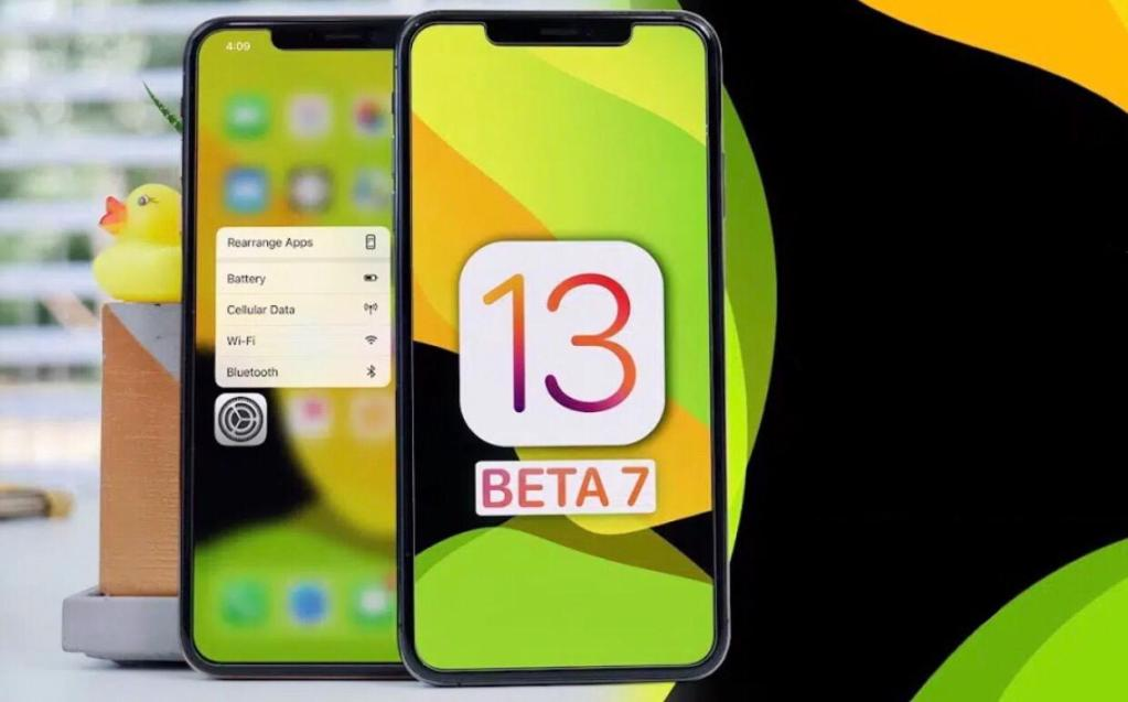 iOS 13 Developer beta 7 download