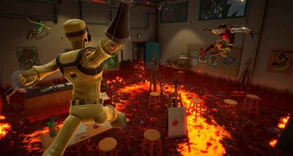 Apple Arcade game hot lava