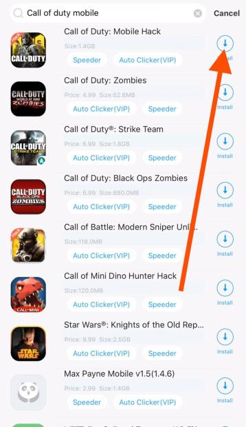 Download call of duty mobile hack iOS