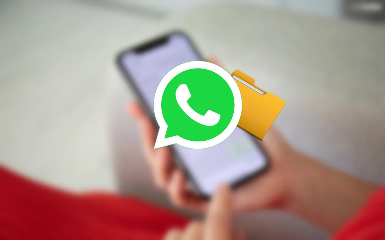 How to send image as document in Whatsapp iPhone
