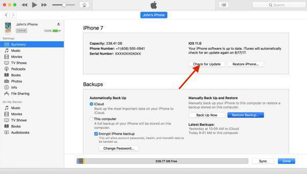 Download iOS Software Update with Mobile Data