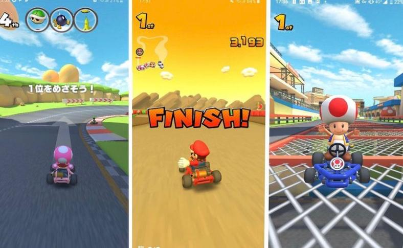 Play Mario Kart Tour on iPhone with friends