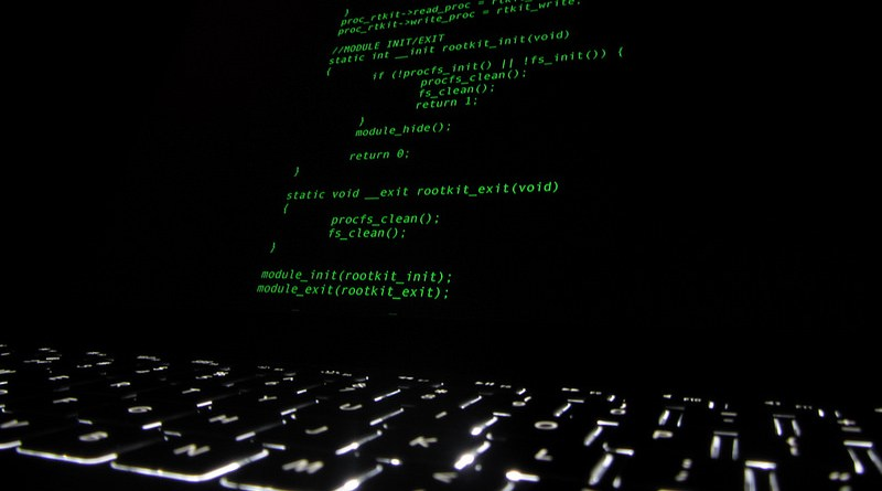 Rootkit code with keyboard by Christiaan Colen
