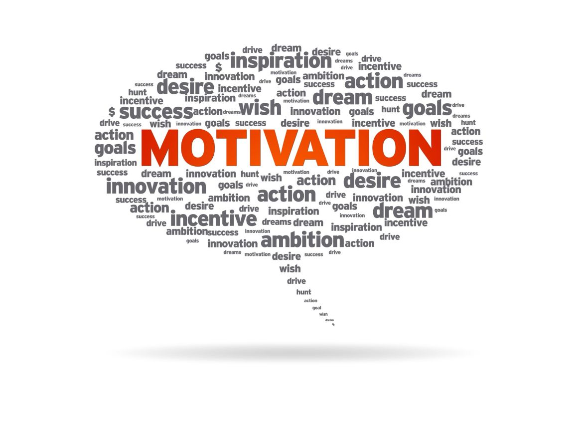 Motivation Word Cloud - How To Get Motivated And Restore Your Energy And Enthusiasm