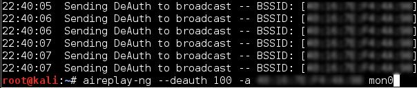 deauthentication screenshot