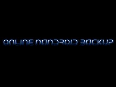 Online-nandroid-backup