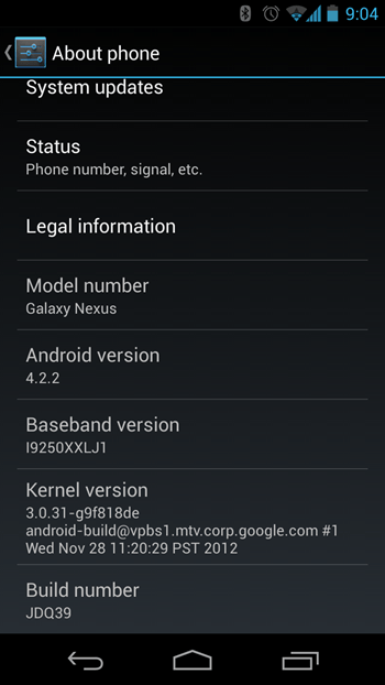 manually update gsm galaxy nexus to android 4.2.2