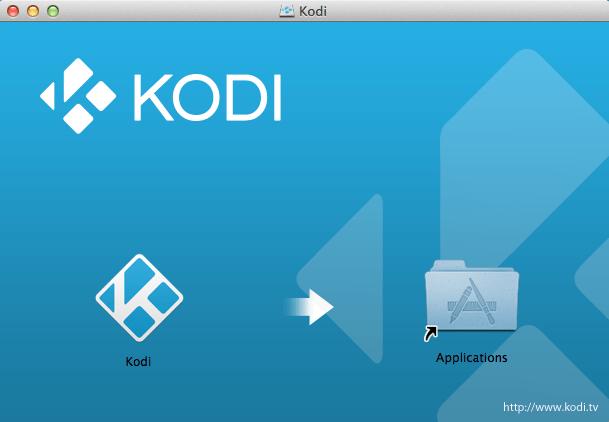 Kodi-mac-osx-installer