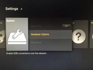 amazon firestick system developer options hack kodi