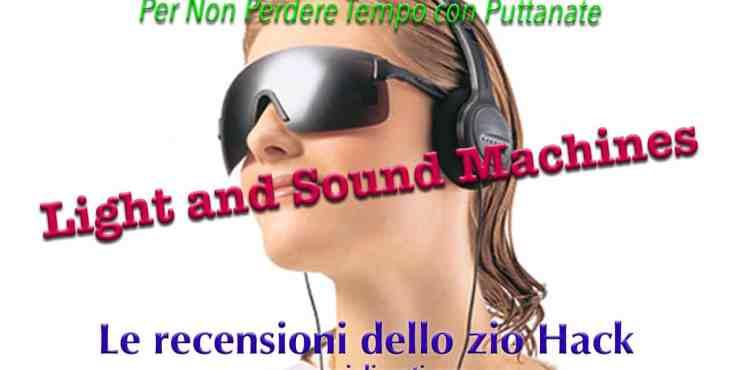 L&S light sound machines recensione