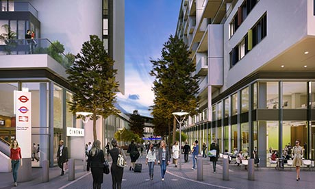 City North development. Photograph: United House Developments