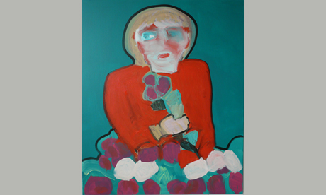 Carla Busuttil, Frau Iron (The World's Most Powerful Auntie) 2009, oil on canvas, 100 x 120 cm