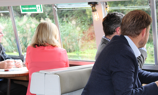 Reedbed cruise guests