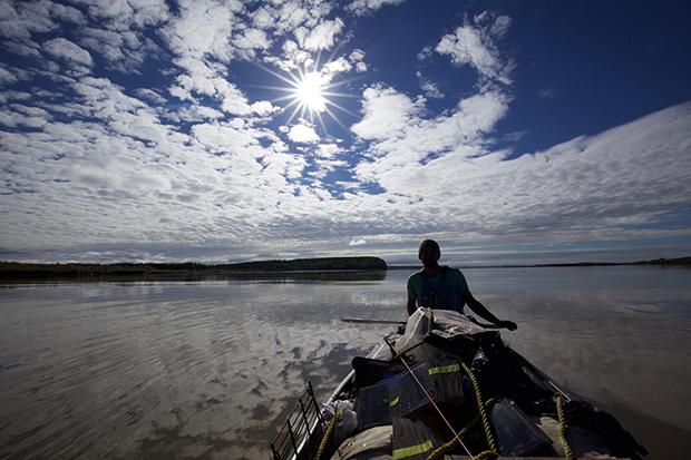 Adam Weymouth on the Yukon River