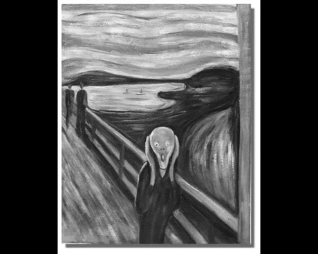 Octavia Arts: The Scream, 2008 - video still