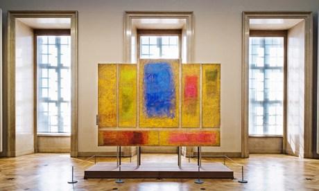 'Vibrant hues': Polyptyque Sassetta, by Monique Frydman. Photograph: O. Houada