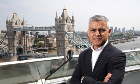 Cash injection: London Mayor Sadiq Khan