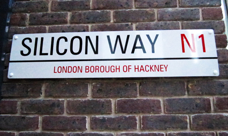 Silicon Way sign