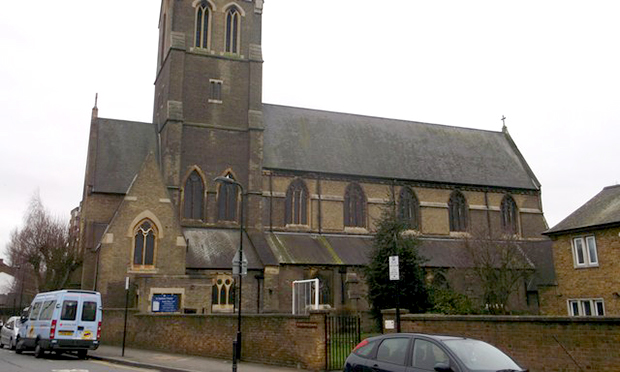 St Matthias Church in Stoke Newington