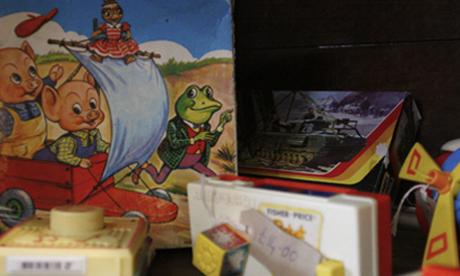 Vintage toys at Three Potato Four, Newington Green