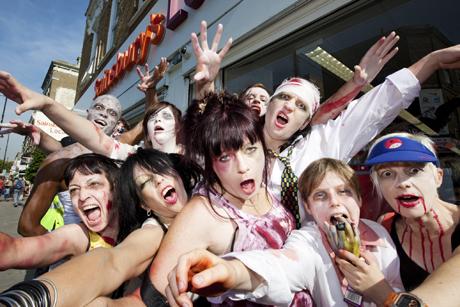 Zombies Stoke Newington Tim Sullivan