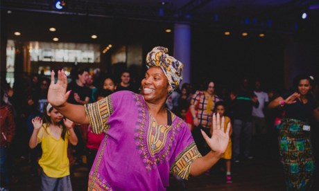 Celebration: a shot from last year's Africa Utopia festival