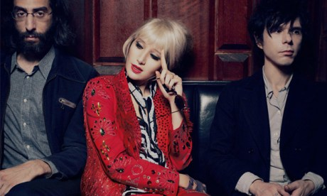 Art-pop: Yeah Yeah Yeahs made a return to the stage last year following a hiatus