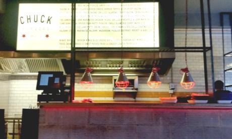The Chuck menu. Photograph: Hackney Citizen