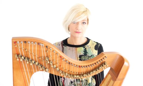 Harping on: Fraya Thomsen and her Celtic harp