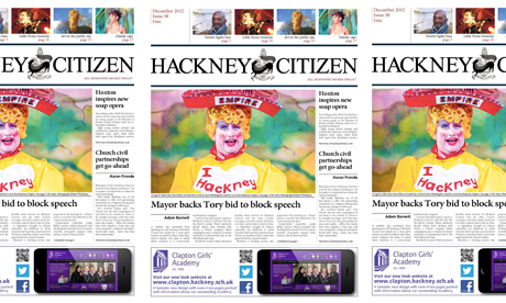 hackney citizen december 2012 front page