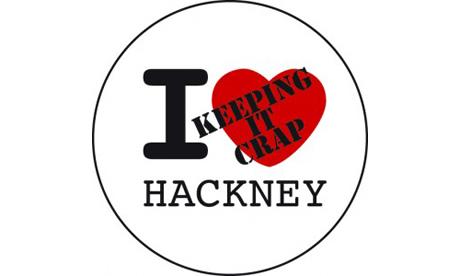 hackney keeping it crap eel badge