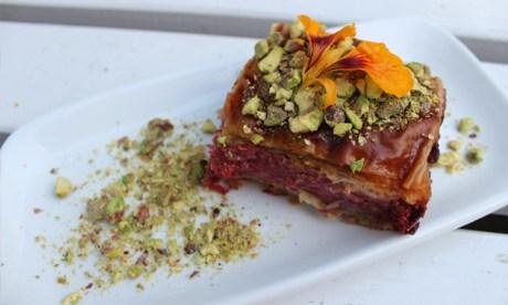 """Best baklava ever"": the impressive dessert. Photograph: Jade King"