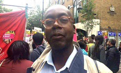 Speaking out: former Hackney councillor Patrick Vernon. Photograph: Hackney Citizen