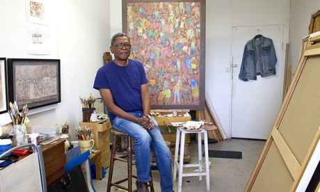 Paul in his studio.