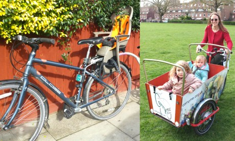 Pinched: some of Hackney Family Cycling's missing equipment