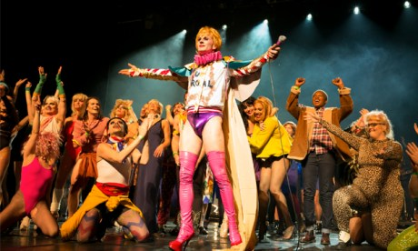 'What's alternative to the mainstream now? It's the queer underground.' Scenes from last year's Unroyal Variety. Photograph: Angus Stewart