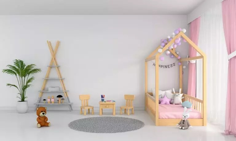 idees deco chambre fille rose photos