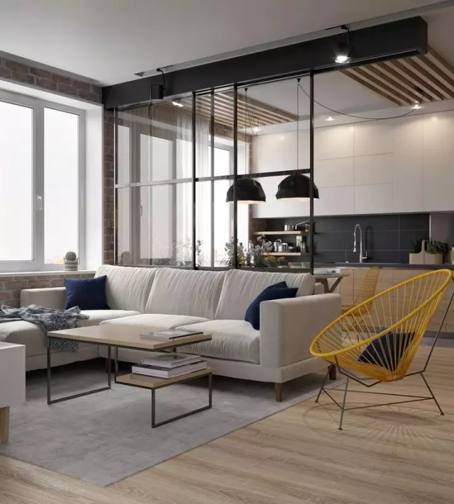 Kitchen-living room combo: design ideas, and trends 2020 ...