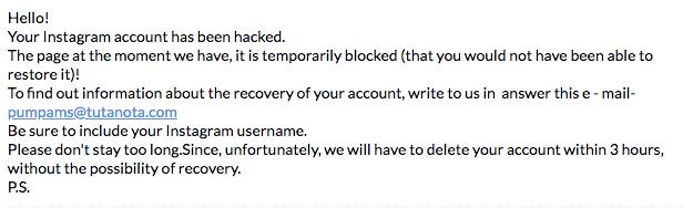 Les pirates tiennent des comptes Instagram d'influenceurs pour obtenir une rançon