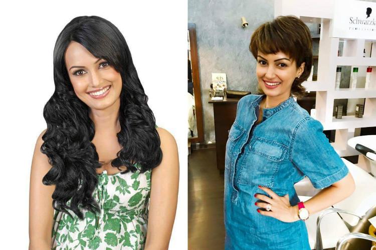 Nisha Rawal Haircut