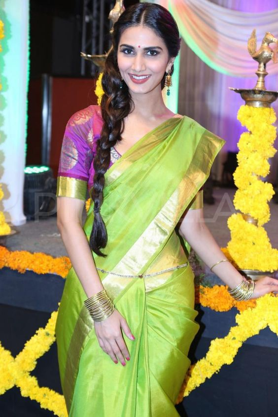 Vaani Kapoor Long Braid
