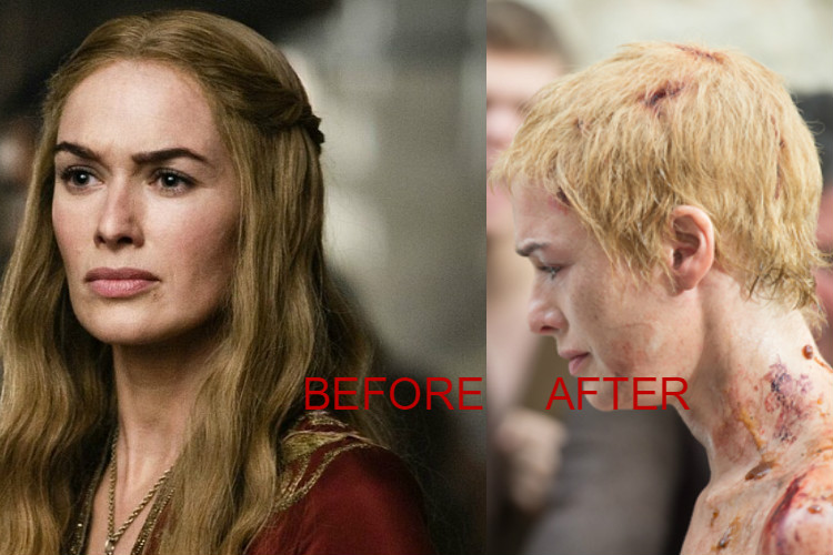 Lena Headey Haircut
