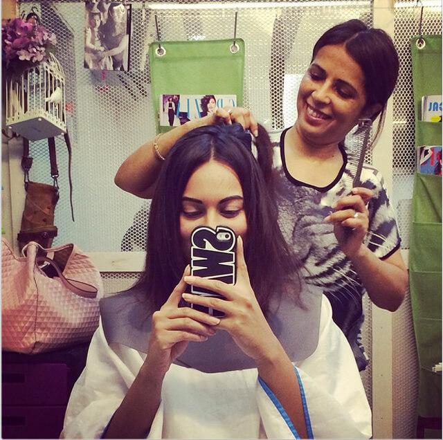 Sonakshi Sinha Haircut 1
