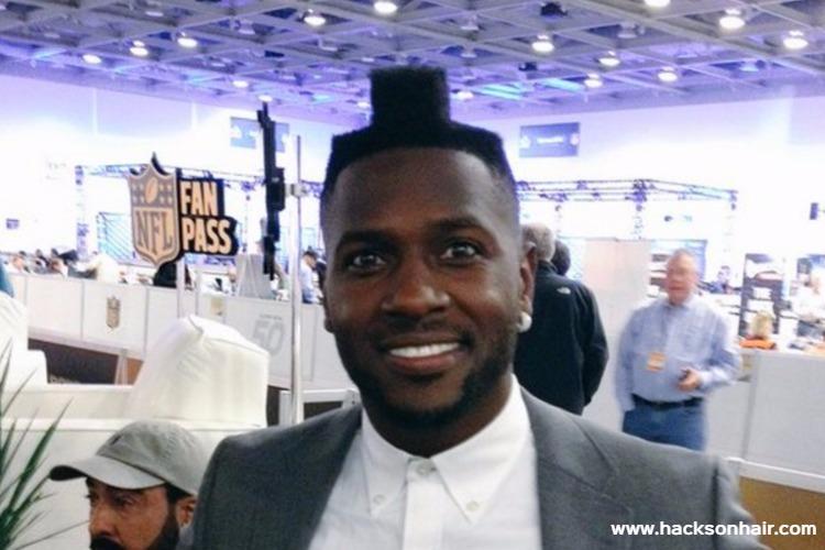 Antonio Brown Haircut